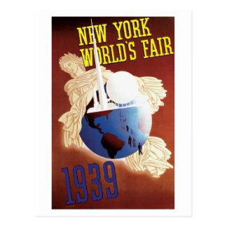 1939 het Eerlijke Briefkaart van de Wereld van New