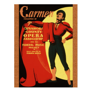 1939 Opera: Het Briefkaart van trambestuurders