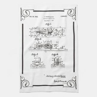 1945 de tekening van het de bootoctrooi van de theedoek