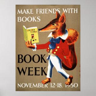 1950 het Poster van de Week van het Boek van