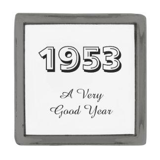 1953 een zeer Goede Speld van de Revers van het Verbronsde Reverspeld