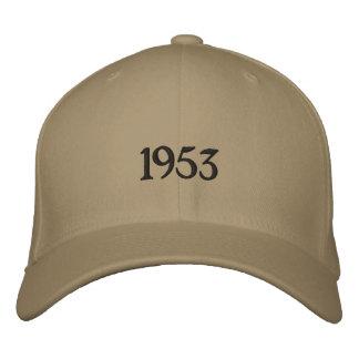 1953 het Pet van het Honkbal van de Douane Petten 0
