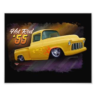 1955 Chevy vrachtwagendruk Foto Afdruk