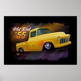 1955 Chevy vrachtwagenposter Poster