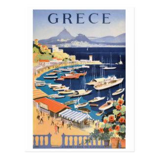 1955 de Baai van Griekenland Athene van het Poster Briefkaart