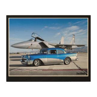 1955 Straal van de Vechter van de Auto van Buick Hout Afdruk