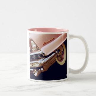 1956 de Première van Lincoln Tweekleurige Koffiemok