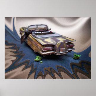 1959 Chevy Impala, autokerkhofAuto, Klassieke Poster