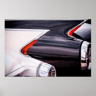 1960 de Krommen van Cadillac Poster