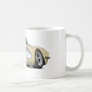 1961 Beige Convertibel van het Korvet Koffiemok