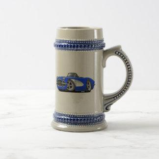 1961 Blauwe Convertibel van het Korvet Bierpul