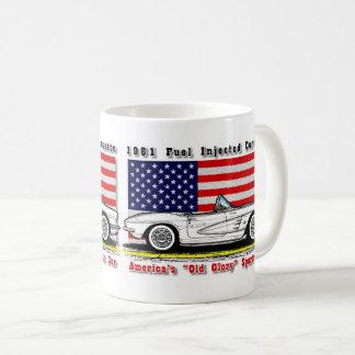 1961 de Brandstof Ingespoten Mok van de Koffie van
