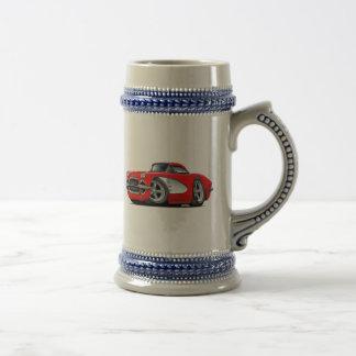 1961 de Rode Auto van het Korvet Bierpul