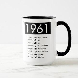1961-groot Jaar (15 oz.) De Mok van de koffie
