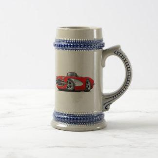1961 Rode Convertibel van het Korvet Bierpul