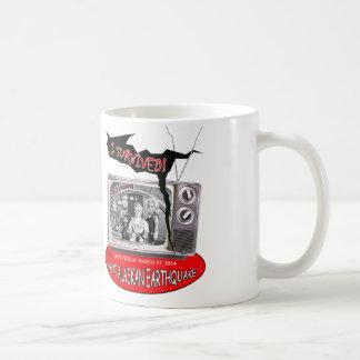 1964 de Grote Vuurbol Van Alaska van de Aardbeving Koffiemok