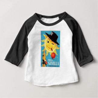 1965 het Eerlijke Poster van Sevilla Spanje April Baby T Shirts