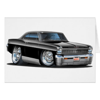 1966-67 de Zwarte Auto van de Nova Wenskaart