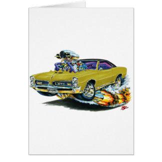 1966-67 Gouden Auto GTO Wenskaart
