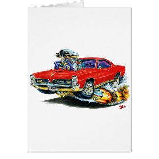 1966-67 Rode Auto GTO Kaart
