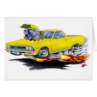 1966 de Gele Vrachtwagen van Gr Camino Briefkaarten 0