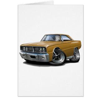 1966 de Gouden Auto van de Kroon Wenskaart