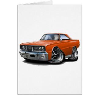 1966 de Oranje Auto van de Kroon Wenskaart