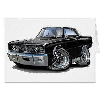 1966 de Zwarte Auto van de Kroon Wenskaart