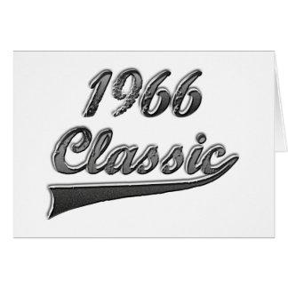 1966 Klassiek Wenskaart