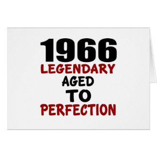 1966 LEGENDARISCHE OUD AAN PERFECTIE WENSKAART
