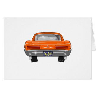 1966 Pontiac GTO Wenskaart
