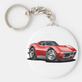 1968-72 de Rode Auto van het Korvet Sleutelhanger