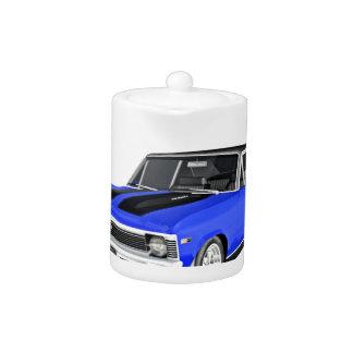 1968 de Blauwe Auto van de Spier