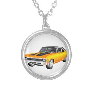 1968 de Gouden Auto van de Spier Zilver Vergulden Ketting