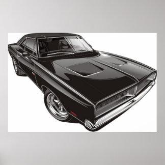 1969 het Poster van de Lader van Dodge
