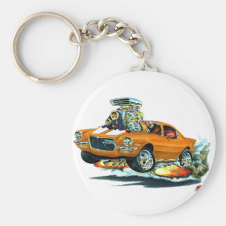 1970-72 de Auto van het oranje-Wit Camaro Sleutelhanger