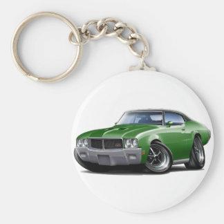 1970-72 de Groene Zwarte Hoogste Auto van Buick GS Sleutelhanger