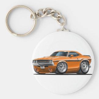 1970-72 de Oranje Auto van Eiser Sleutelhanger