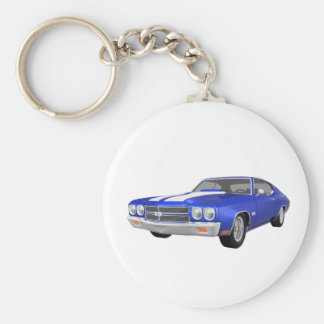 1970 Chevelle SS: Blauw eindig: Sleutelhanger