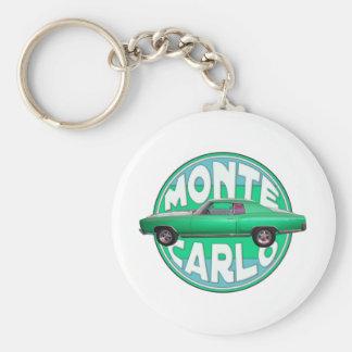 1970 de stijl van Monte Carlo Sleutelhanger