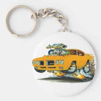 1970 Oranje Auto GTO Sleutelhanger
