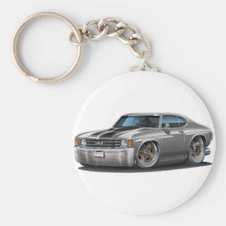 1971-72 de Auto van de grijs-Zwarte Chevelle Sleutelhanger