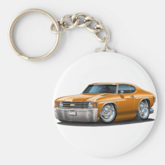 1971-72 Oranje Auto Chevelle Sleutelhanger