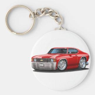 1971-72 Rode Auto Chevelle Sleutelhanger