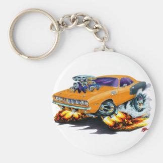 1971 de Oranje Auto van Hemi Cuda Sleutelhanger