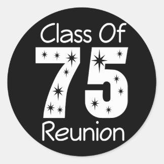 1975 de Stickers van de Bijeenkomst van de Klasse