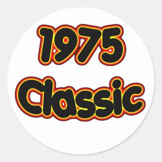 1975 Klassiek Ronde Sticker