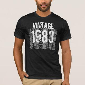 1983 Verjaardag Beste 1983 Vintage Zwarte G200 T Shirt