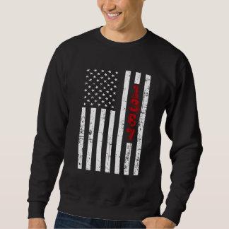 1987 T-shirt. de 31ste Gift van de Verjaardag Trui