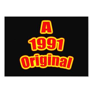1991 Originele Rode Blk Kaart